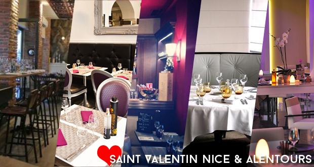 Saint-Valentin: 6 idées resto Nice et alentours