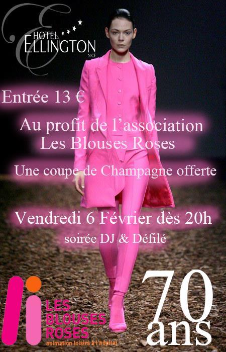 [Nice] Défilé de mode à l'hôtel Ellington pour les blouses roses