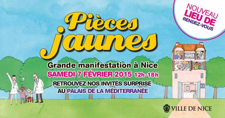Opération Pièces jaunes au Palais de la Méditerranée à Nice !