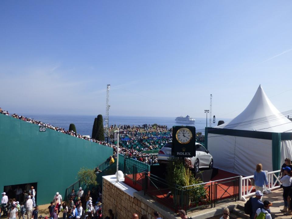Monte-Carlo Rolex Masters: la première journée de stars!