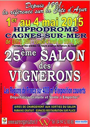 Salon des vignerons cagnes sur mer actualit s bons plans shopping sorties nice et alentours - Salon gastronomique cagnes sur mer ...