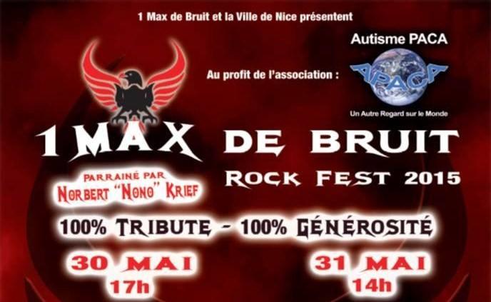 ROCK FEST 1 Max de Bruit : Un festival pour la bonne cause !