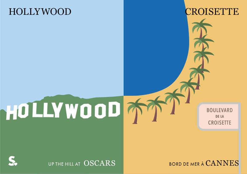 hollywood vs croisette