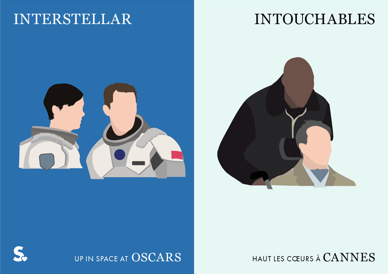 interstellar vs intouchables