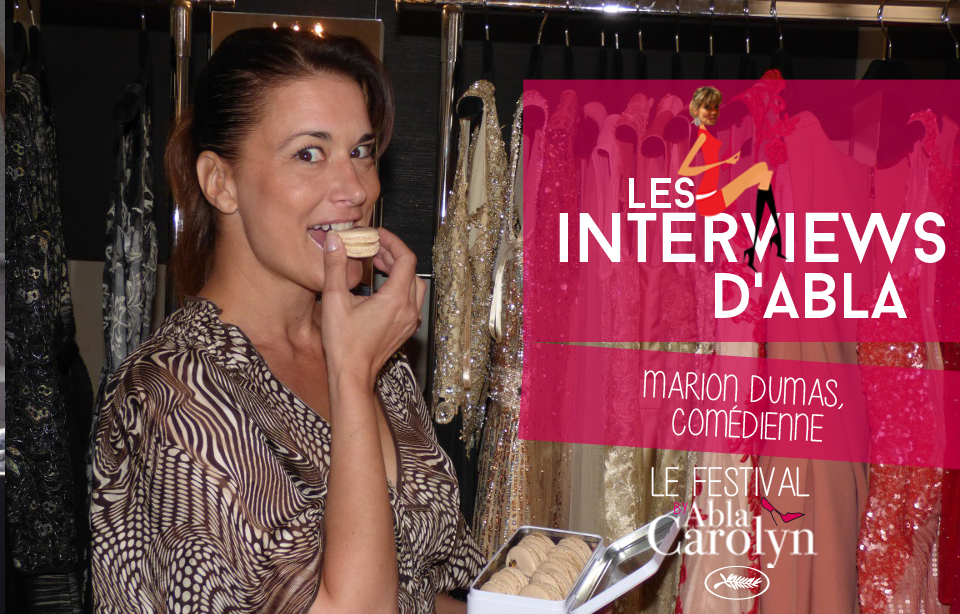 Festival de Cannes: Rencontre avec Marion Dumas, comédienne