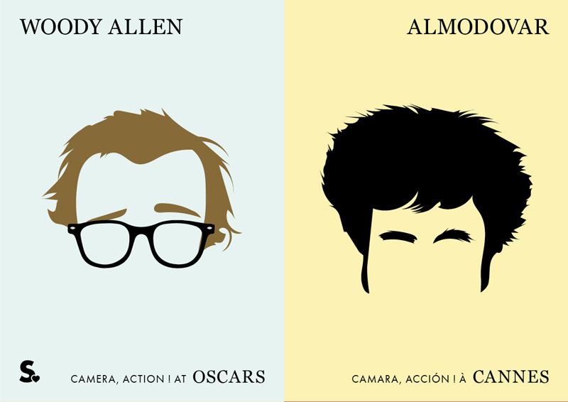 woody allen vs almodovar