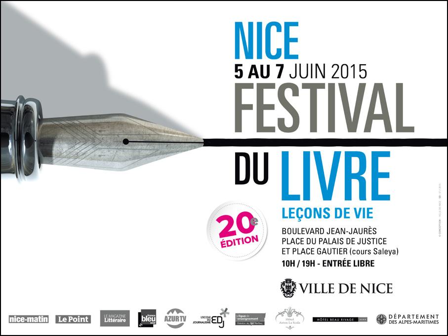 Le Festival du Livre de Nice fête ses 20 ans !