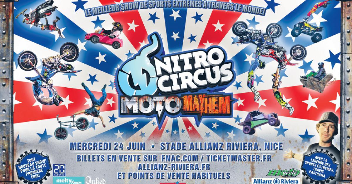 Nitro Circus à Nice