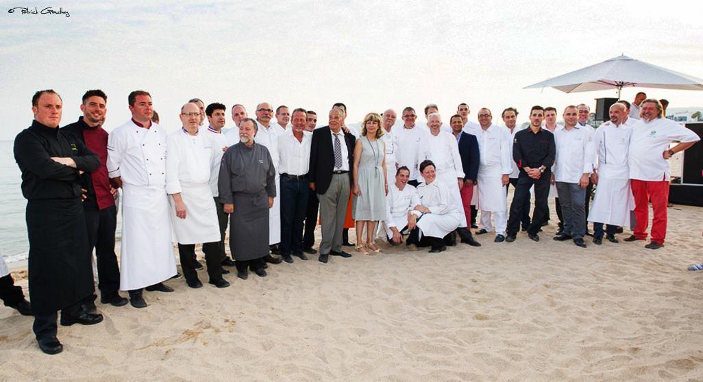 Vins et gastronomie: 30 ans, 30 chefs à Cannes!