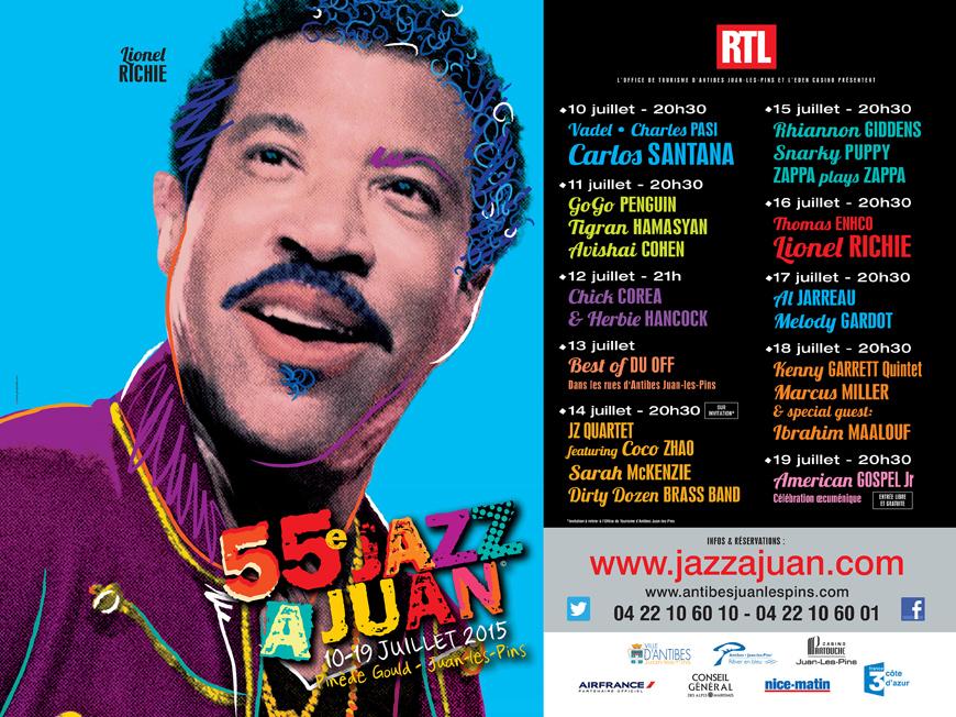 55ème festival de Jazz à Juan