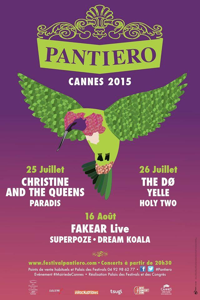 Pantiero 2015: 3 dates à retenir cet été à Cannes!