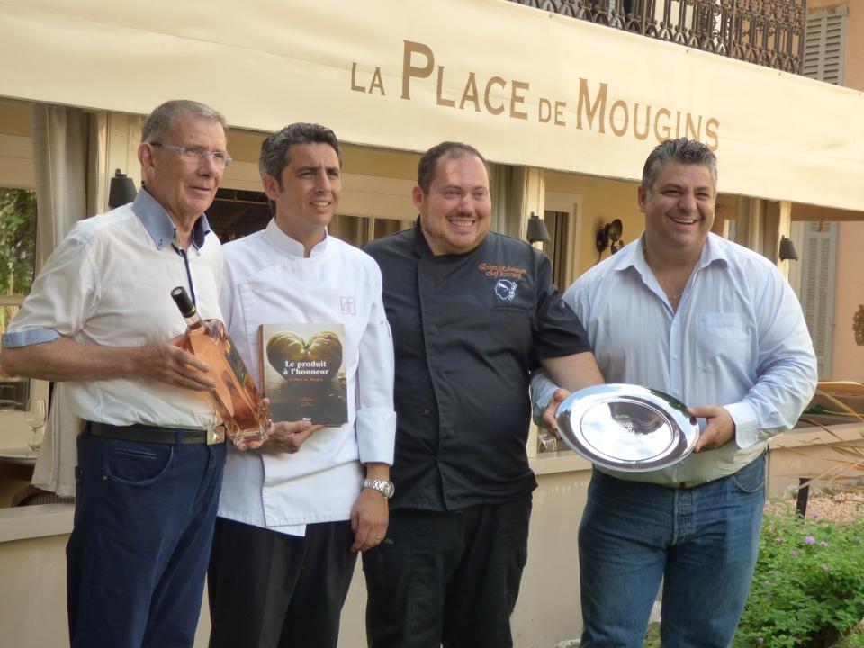 Le premier trophée Terroir & Saison remporté par le chef exécutif de la Place de Mougins!