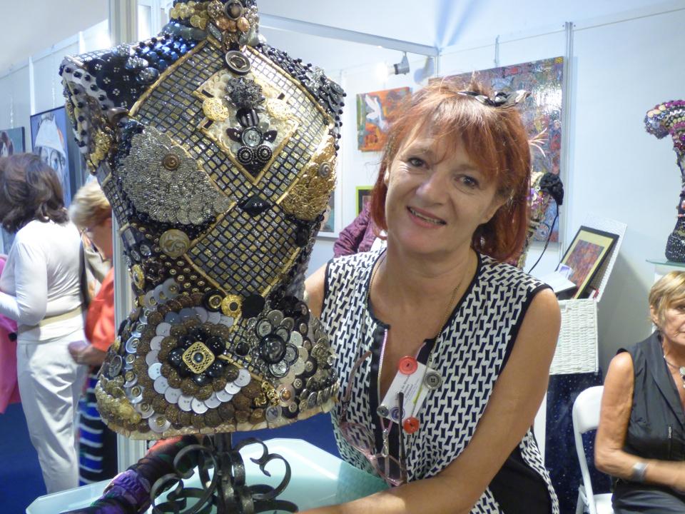 [FOCUS] Bianca Tosti: l'artiste Cannoise à l'expo «Artistes du Monde»