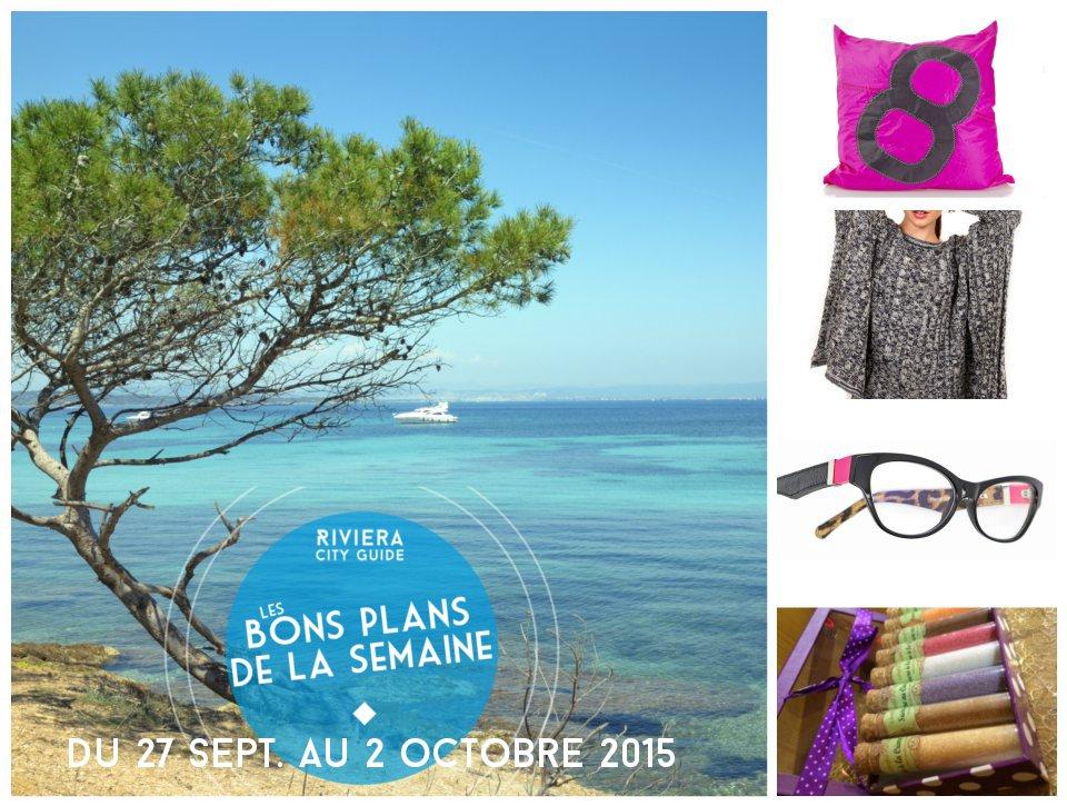 Les bons plans de la semaine #4 du 27 sept au 2 octobre 2015