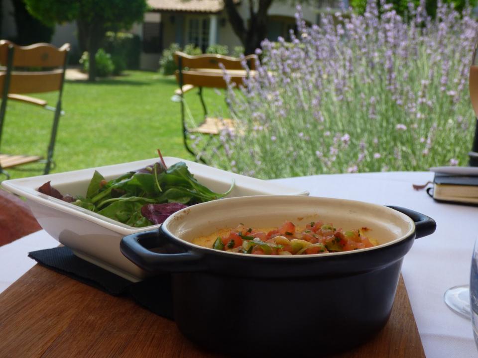 Hôtel de Mougins: un havre de paix au restaurant «le Jardin»