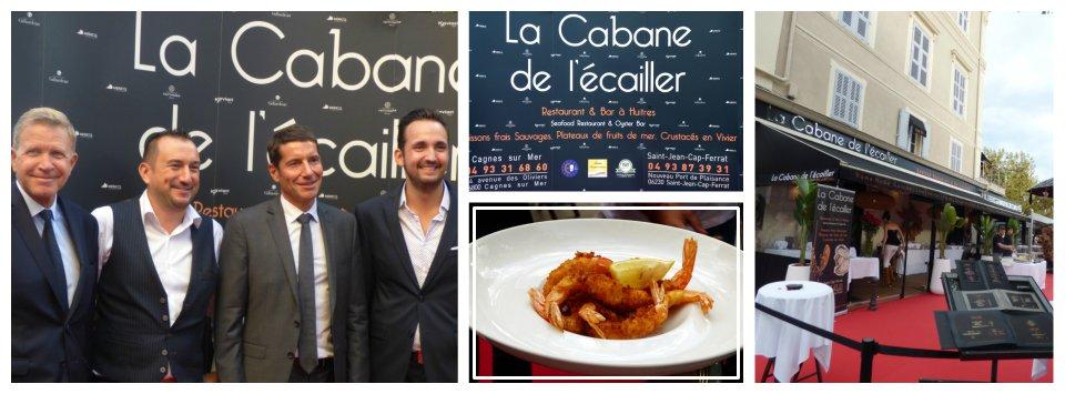 La Cabane de l'Ecailler s'installe à Cannes!