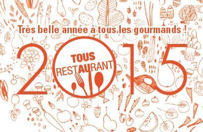 Tous au Restaurant 2015: payez pour 1, mangez pour 2!