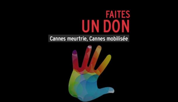 Faites un donpour aider Cannes suite aux intempéries