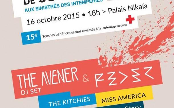 Un concert pour les sinistrésavec des artistes locaux dont The Avener et Feder