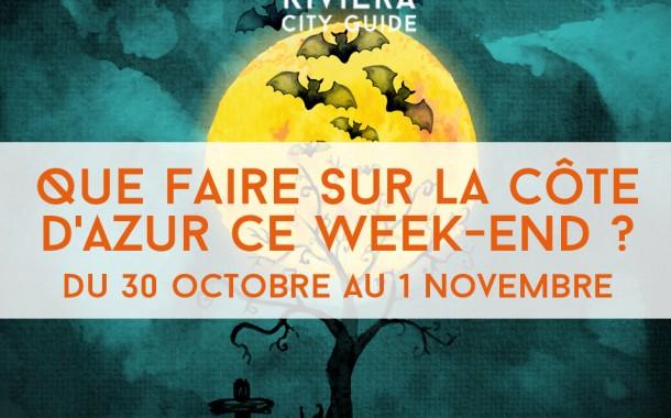 Que faire sur la Côte d'Azur ce week-end? Du 30 octobre au 1er novembre 2015