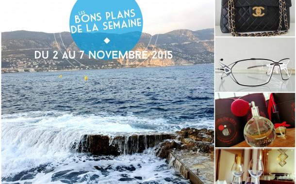 Les bons plans de la semaine #9 du 2 au 7 novembre 2015