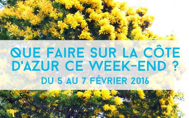 Que faire sur la Côte d'Azur ce week-end? Du 5 au 7 février