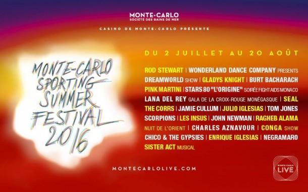Monte-Carlo Sporting Summer Festival 2016 : Le programme