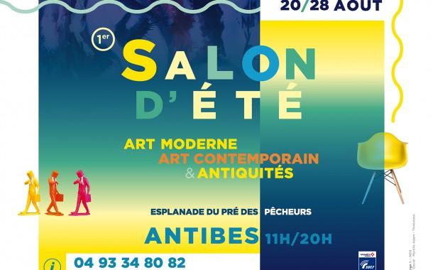 1er salon d'été à Antibes : un rendez-vous pour les amateurs d'art