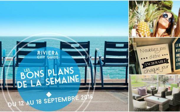 Les Bons Plans de la semaine du 12 au 18 septembre 2016