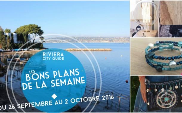 Les Bons Plans de la semaine du 26 septembre au 2 octobre 2016