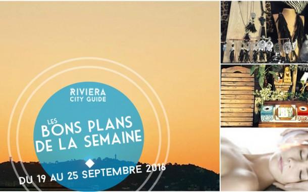 Les Bons Plans de la semaine du 19 au 25 septembre 2016
