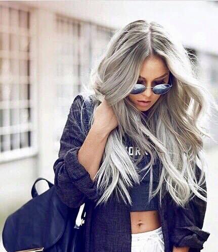 gris cheveux