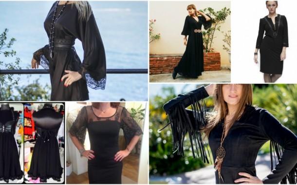 Des robes noires à shopper sur la Côte d'Azur