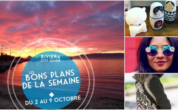 Les Bons Plans de la semaine du 2 au 9 octobre 2016