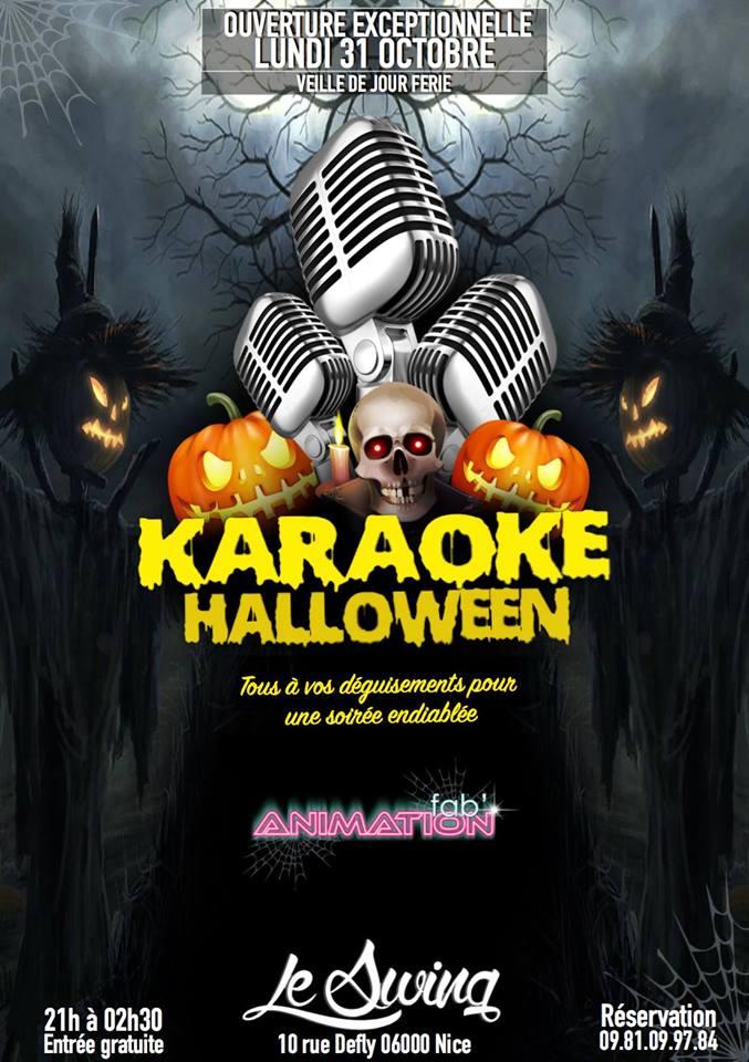 halloween karaoké