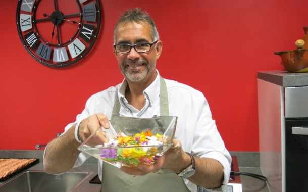 Antibes | Yves Terrillon, cuisinier des fleurs.