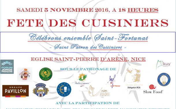 NICE | Participez au banquet des cuisiniers pour célébrer Saint-Fortunat