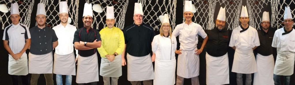 12 chefs