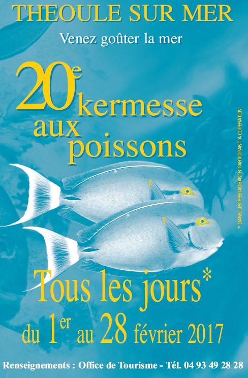affiche kermesse aux poissons 2017