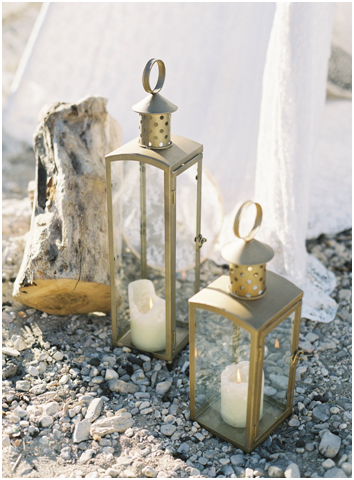 lanternes gold