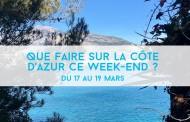 Que faire sur la Côte d'Azur ce week-end? Du 17 au 19 mars 2017