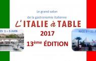 L' Italie à Table : l'édition 2017