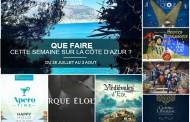 Que faire sur la Côte d'Azur cette semaine du 28 juillet au 3 aout 2017