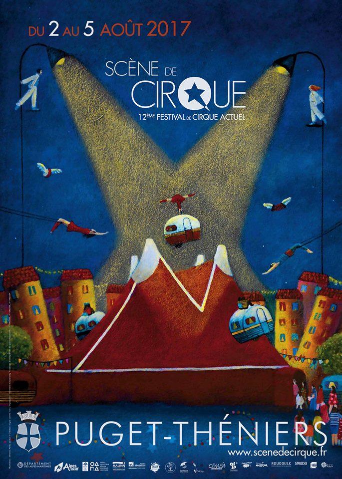 scene de cirque puget