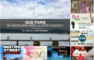 Que faire sur la Côte d'Azur ce week-end du 1er au 3 septembre 2017 ?