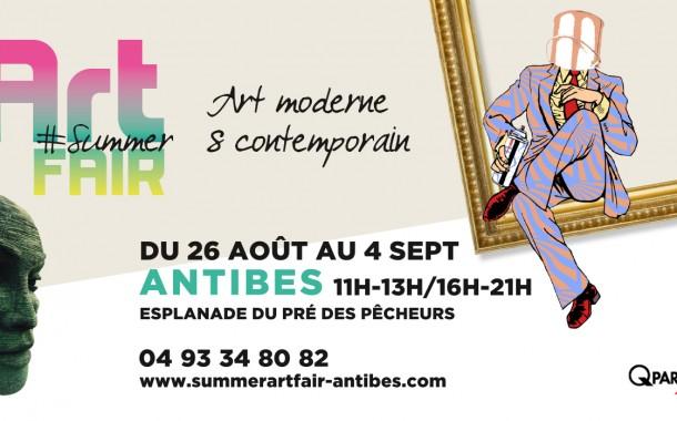 Summer Art Fair 2017 à Antibes : le rendez-vous de la fin d'été pour les amateurs d'arts
