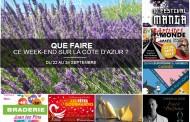 Que faire sur la Côte d'Azur ce week-end ? du 22 au 24 septembre 2017