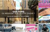 Que faire sur la Côte d'Azur ce week-end ? du 29 septembre au 1er octobre 2017