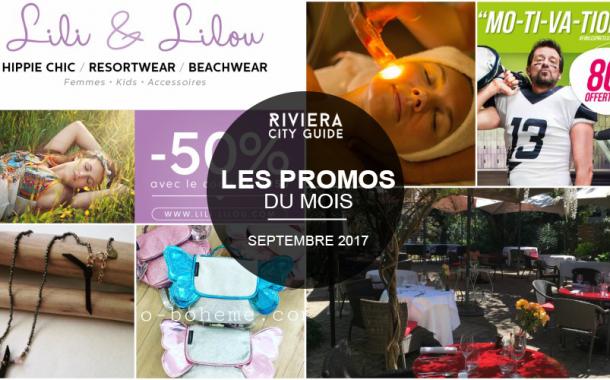 Les Bons plans du mois de Septembre sur la Côte d'Azur
