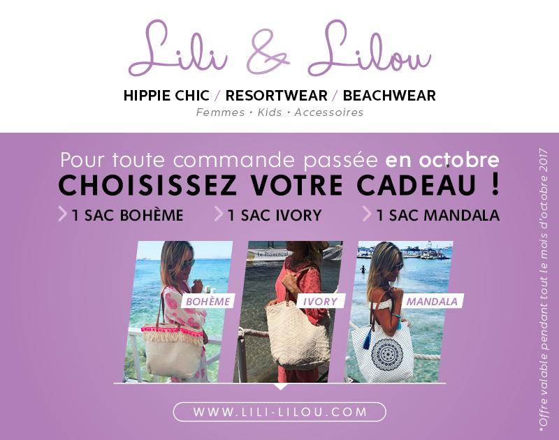 LILI&LILOU - Encart Instagram - Promo - 1 Sac offert - V1